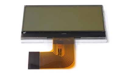 128x64 pixels display module