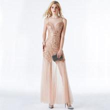 Вечернее платье с блестками и бисером YIDINGZS, длинное вечернее платье русалки, 2020, новый стиль, YD919(Китай)