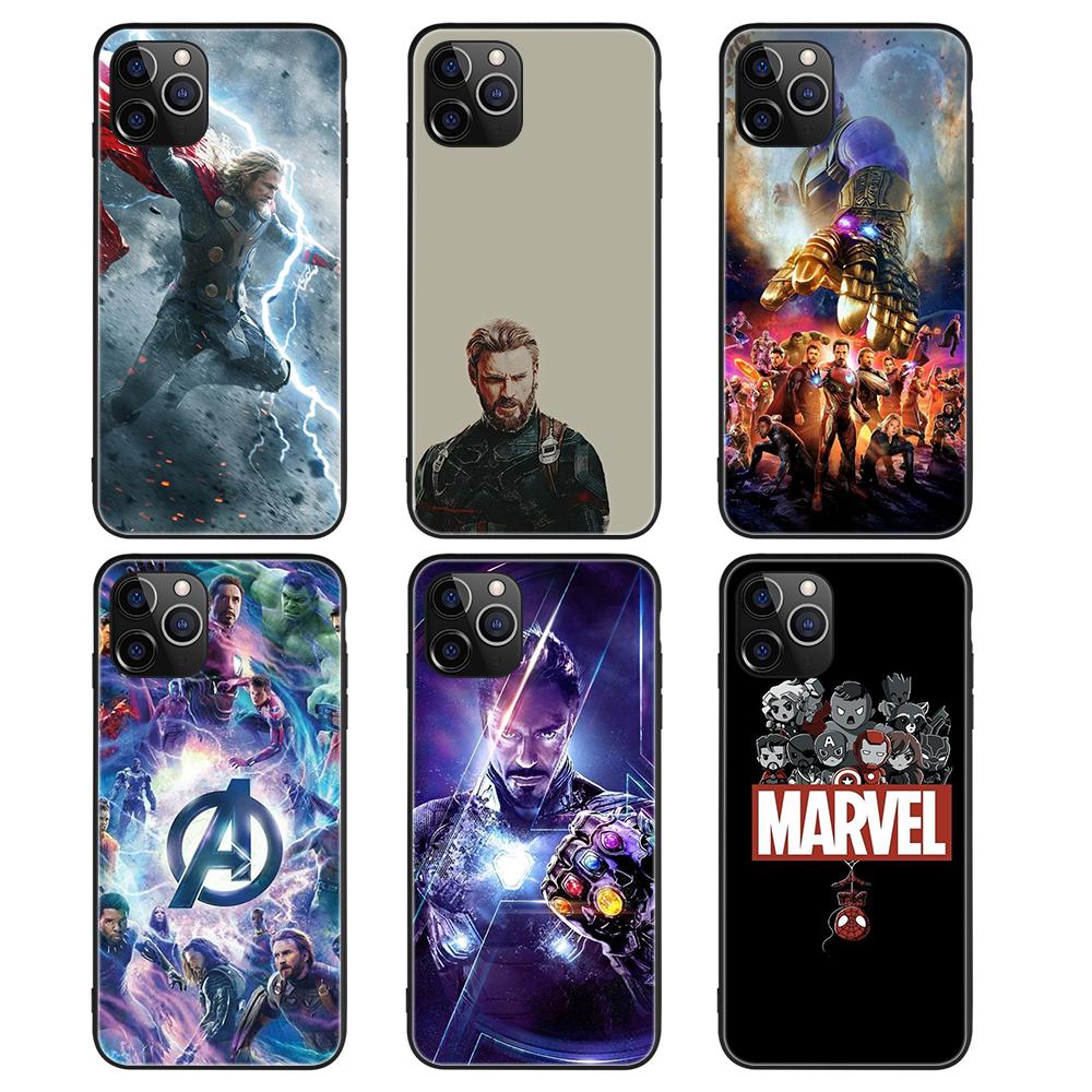 Custom Uv Print Superhero Shockproof Black Tpu Phone Case ...