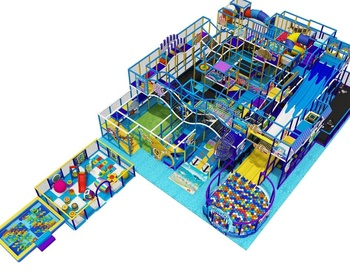 Safety Cheap Indoor Playground with ball pool
