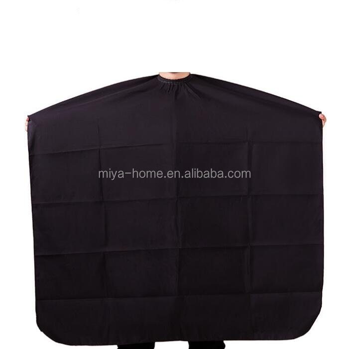 High quality Durable Two-sided hair cutting capes / washable Barber  Hair Salon Apron / Black Hairdressing Cape