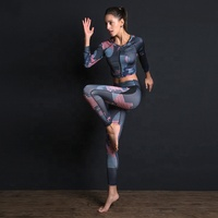 Women Yoga Bra Yoga Crop Top and Pants 3 Pieces Sets Wholesale Fitness Workout Gym Sportsuit Yoga Set