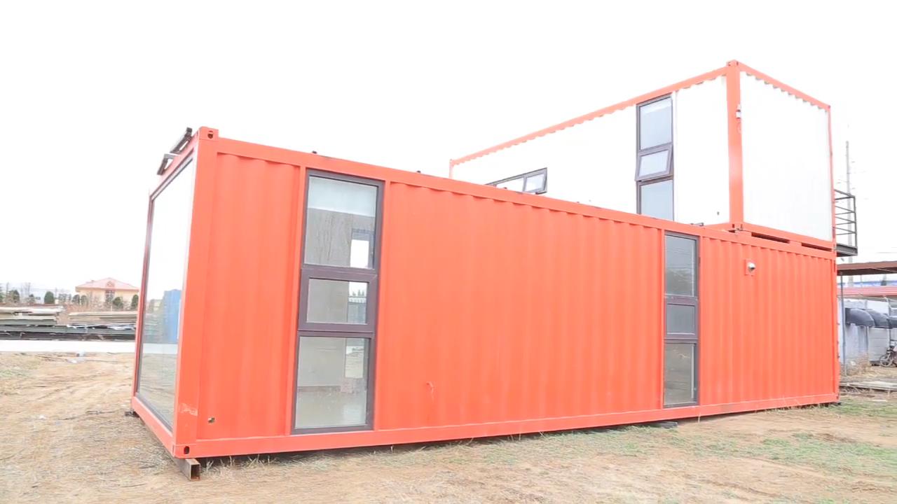 Fabrika yüksek kaliteli popüler konteyner evler ile satılık modüler kiti ev