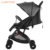 Easy foldable airplane baby can sit and stand commercial unique strollers and baby carriages