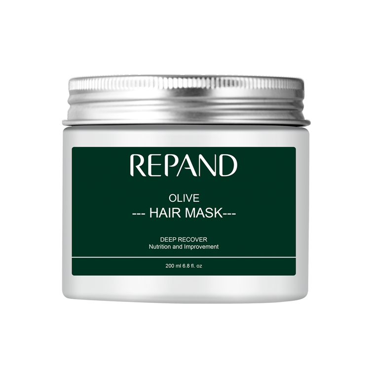 professional hair mask private label olive essence hair cream repair hair