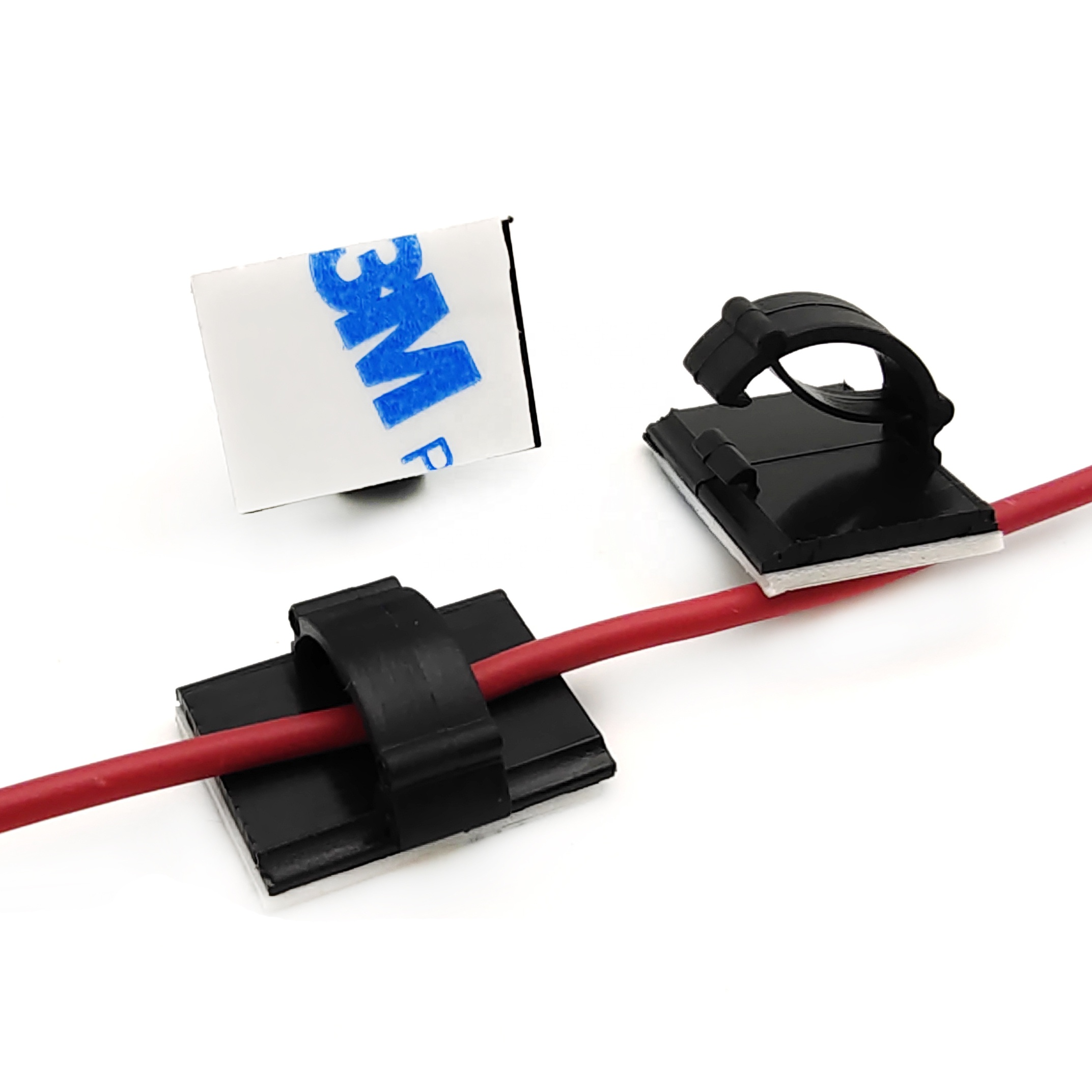 Adjustable cable tie holder with 3M adhesiveACT-22, nylon 66 cable clamp cable clips cord organizer