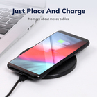 Universal Phone Charger Wireless Charger Free Sample 10W Universal Mobile Phone Fast Charging Pad Qi Wireless Charger