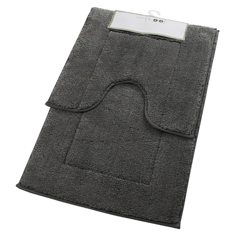 rubber backed bath mats microfibre tapis salle de bain personnalise