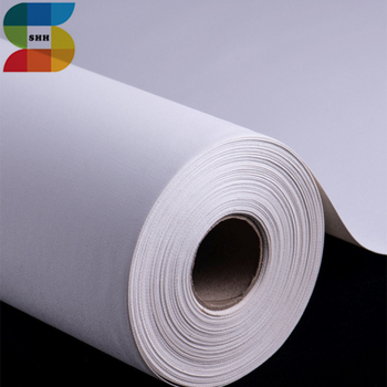 380gsm Polyester Cotton Stretched Canvas Fabric Print Roll