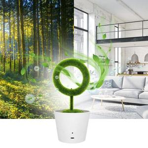 2020 Hot Seller Trending CE Rohs Fcc Portable Home Plant Green Ionizer Air Purifiers For Desktop