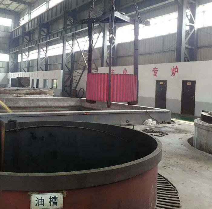 Customize Alloy Steel Forging Cement Mixer Pinion Gear