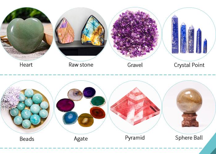 Beauty Fashion Guasha Tool Jade Roller for Face Crystal Facial Green Aventurine Massage Roller