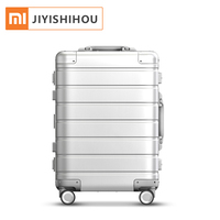 Xiaomi 20Inch Aluminum Carry On Luggage 4 Wheel Spinner 31L Aluminum Alloy TSA Lock Xiaomi 90 Fun Travel Luggage