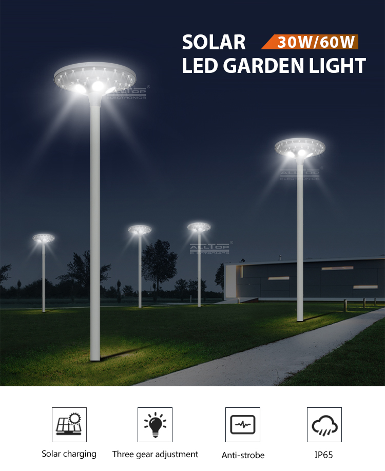 ALLTOP solar led lamp post light-5