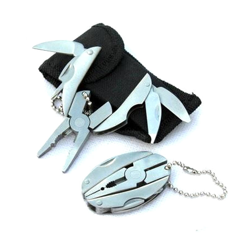 Promotional Gift Mini Multifunction Folding Plier with Key Chain