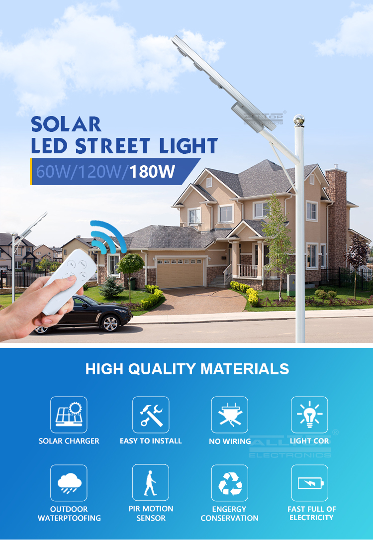 ALLTOP outdoor solar powered lights functional supplier-5