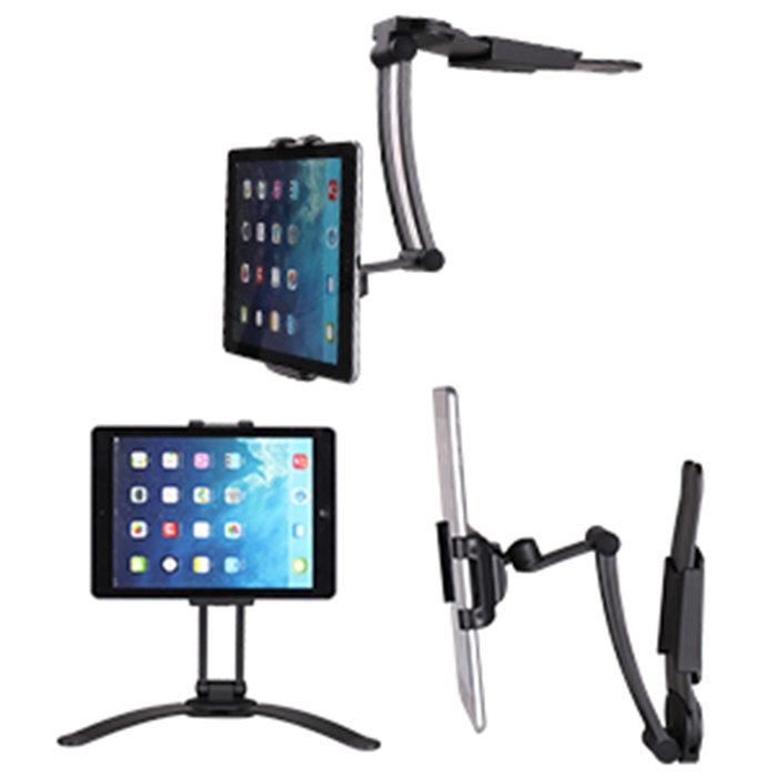 Kitchen Cabinet Desktop Cell Phone Tablet Arm Mount <strong>Stand</strong>
