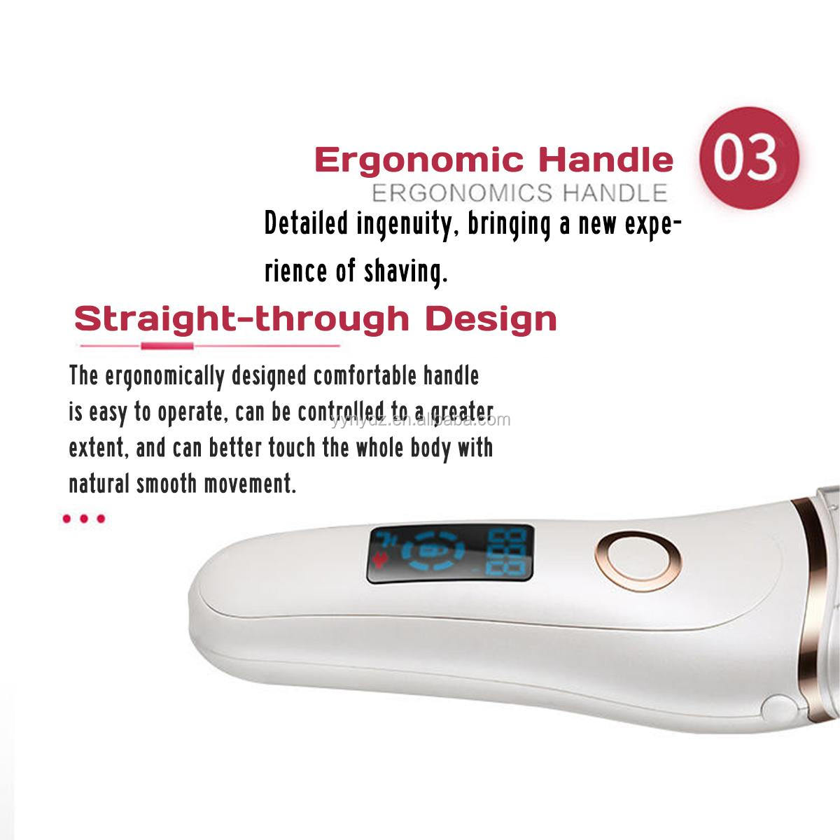 Lady Electric Shaver Electric Razor for Women Body Hair Remover