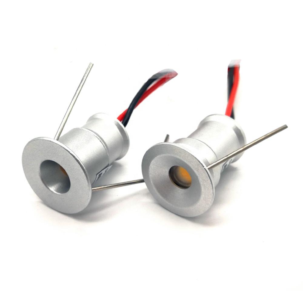 Recessed LED Furniture Kitchen Down Light Mini 1W 3V/12V  Cabinet Light Display Light