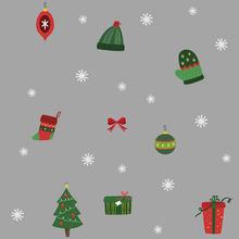 Рождественский подарок, снеговик Снежинка Электростатическая Наклейка на окно детская комната Новогодняя Наклейка на стену s домашние нак...(Китай)