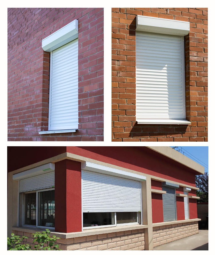 Louvre Aluminium Roller Shutter Windows With A Shutter