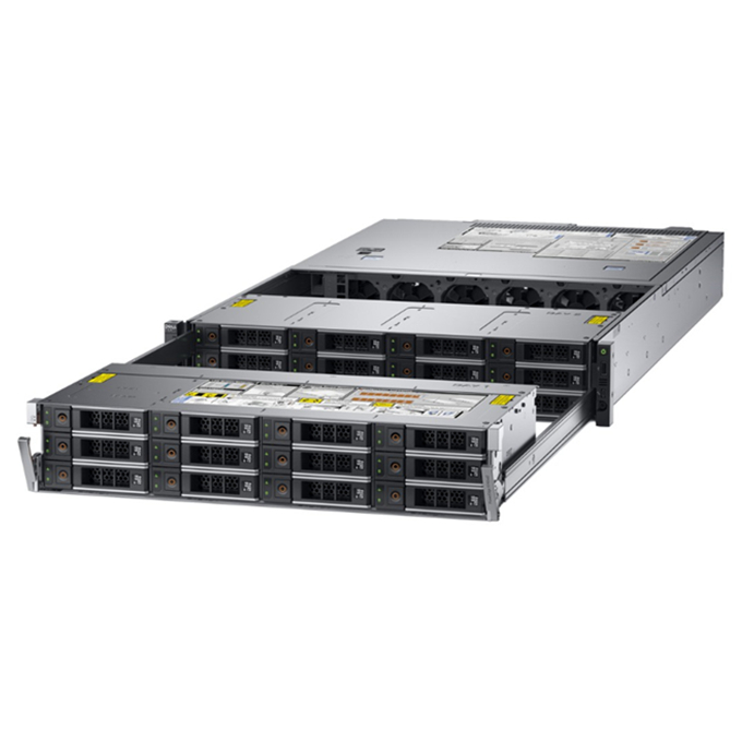Dell PowerEdge Original R740XD2 red Rack Server 24LFF