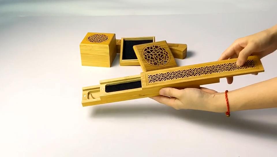 도매 나무 대나무 향 버너 스틱 상자 디자인 향 홀더