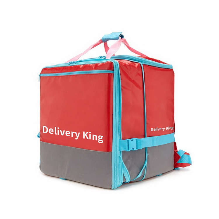 Factory hot sale reusable outdoor motorcycle food delivery box