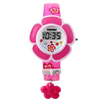 SKMEI 1144 children digital cartoon wrist watch instructions kids rubber watch