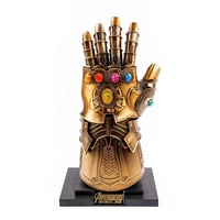 Full Metal Thanos Gloves Infinity Gauntlet With LED Light