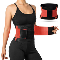 New Arrival Neoprene Men Women Sweat Waist Trimmer Wrap Slimming Fat Tummy Sauna Belt Waist Trainer for Fitness Workout