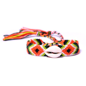 Europe and the United States hot shell weave bracelets wish explosion bohemian friendship bracelets for men or women