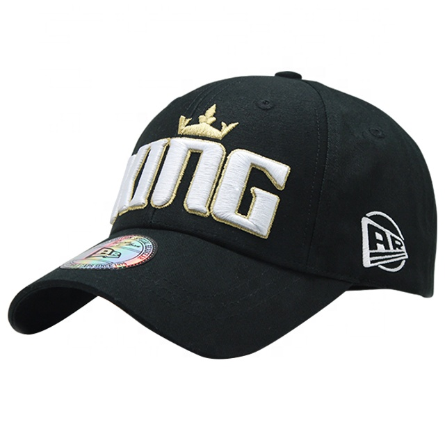Professional custom made cotton twill 6 panel structured sports baseball <strong>cap</strong> and hat with 3D logo