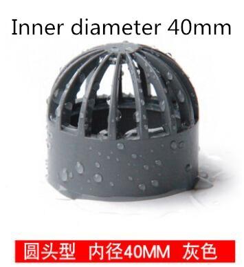 ПВХ синий вентиляционный канал вентиляционная крышка круглая вентиляционная решетка дышащая крышка желоба для аквариума защитная сетка ш...(Китай)