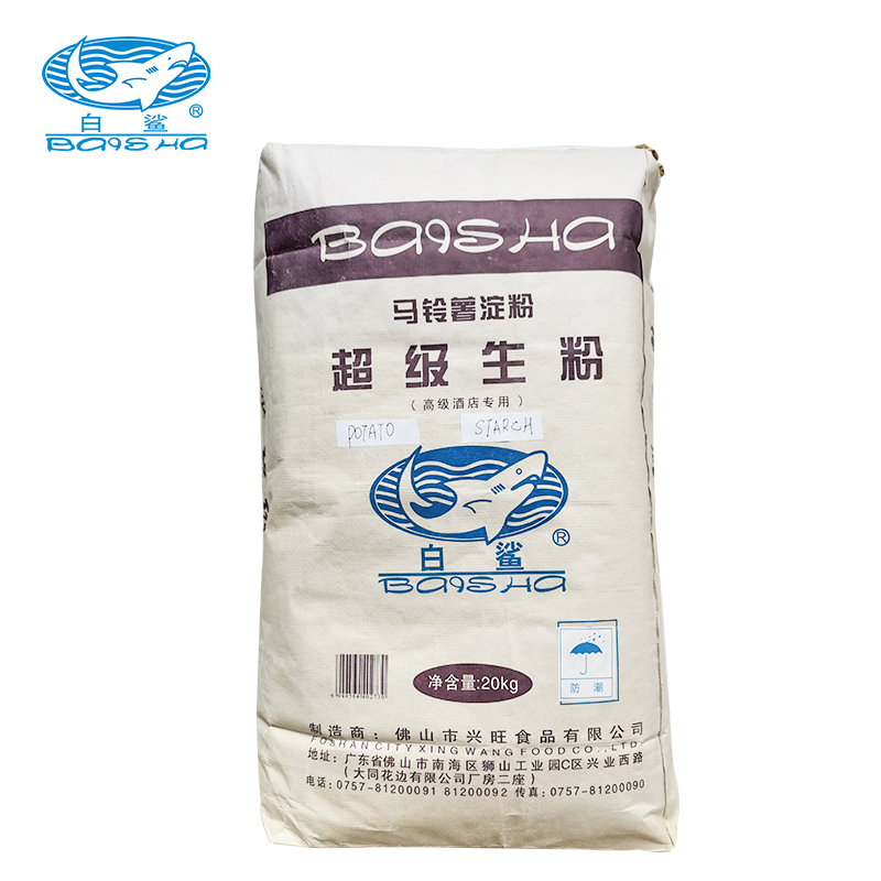 Hotel Special Super Potato Starch Fried Food Special Potato Starch 20KG Packaging