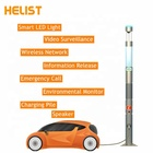 HELIST Customized Smart Garden Street Light Pole with Charge Pile