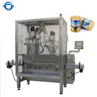 Automatic baby milk powder filling machine for can