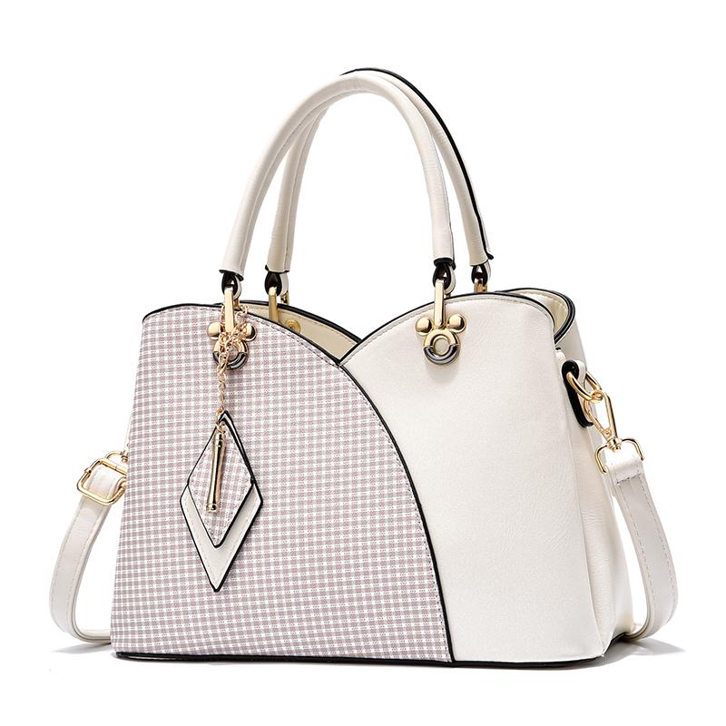 SL0188 high quality PU leather handbag wholesale,custom lady leather handbag women's bag, White,red,burgundy,black,pink,royal blue