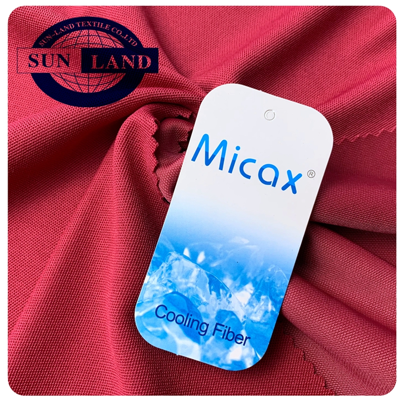 summer hot sales sport polo shirts clothing breathable moisture wicking quick dry polyester coolmax knit pique fabric