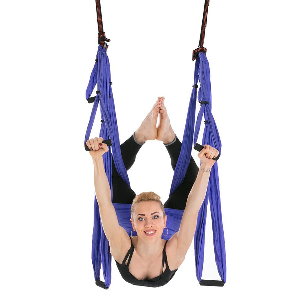 Professionelle Dropshipping Anti schwerkraft stoff Schaukel Sling Aerial Yoga Hängematte