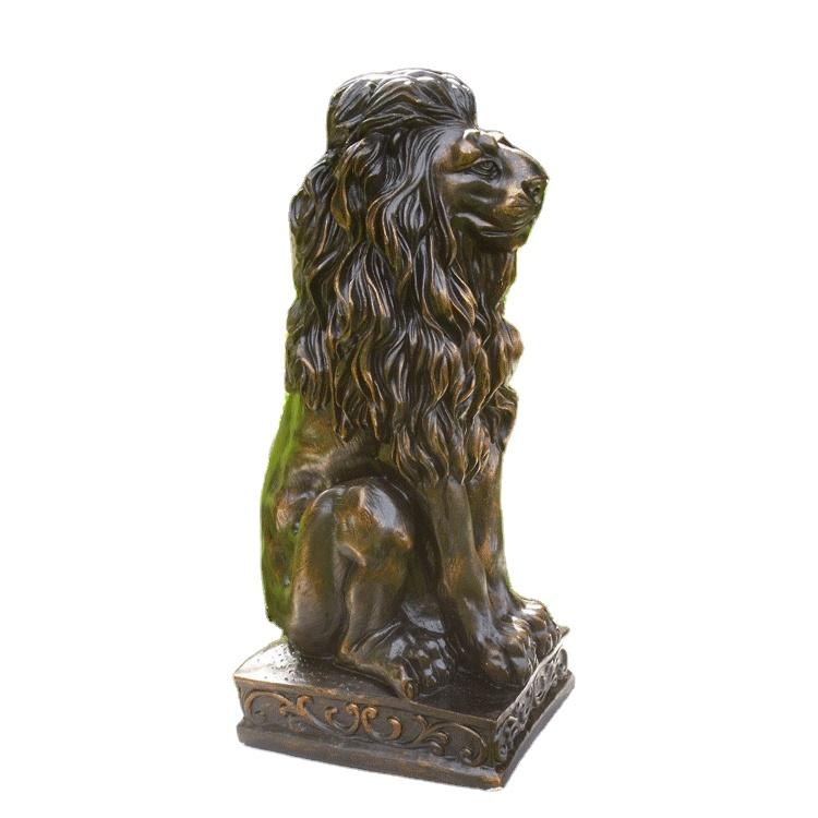 לטקס האריה בטון עובש טיח גן פסל עובש