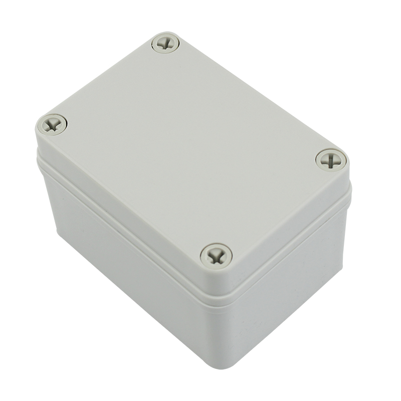 Industrial Electronic Ip67 Waterproof Plastic Cable Junction Box With Mounting Plate