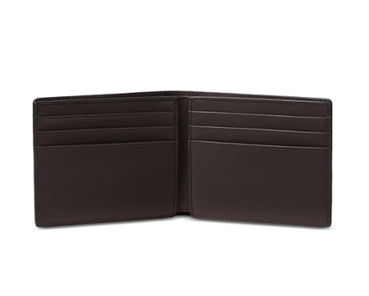 High quality customized PU mens leather wallet with big promotion slim wallet leather for Men