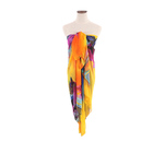 Fashion style summer lady gorgeous beach wear design your own sarong