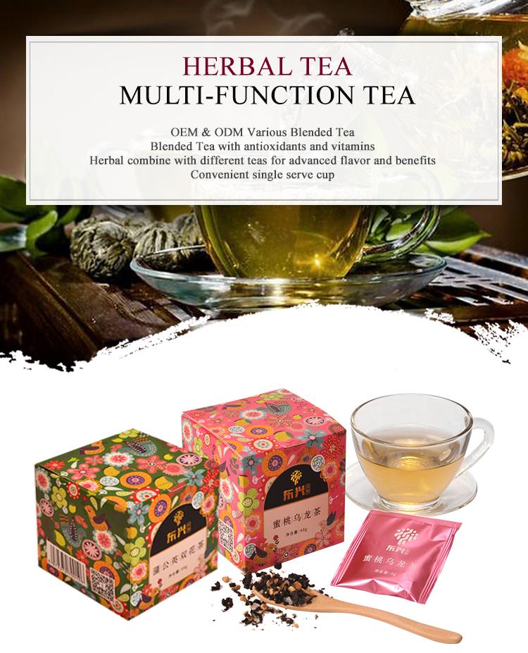 Customized Services Mixed Taste health Tea Peach Oolong Tea Organic Tea - 4uTea | 4uTea.com