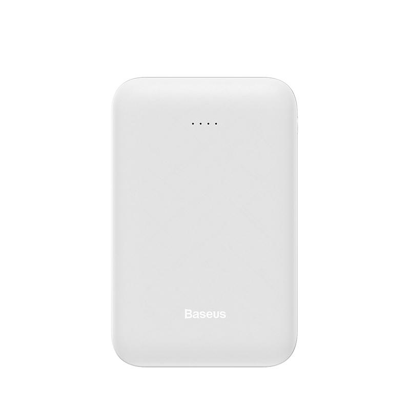 Baseus Mini 10000 мАч Внешний аккумулятор для Xiaomi Huawei Samsung iPhone внешний аккумулятор портативный двойной USB внешний аккумулятор зарядное устройство(Китай)