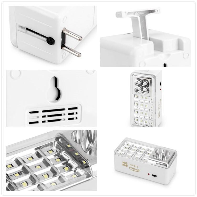 rechargeable emergency lighting