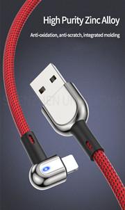 Nhà máy trực tiếp mới nhất thiết kế xách tay sạc cáp thể thao chuyển USB dòng dữ liệu cho Iphone điện thoại di động nhanh phí