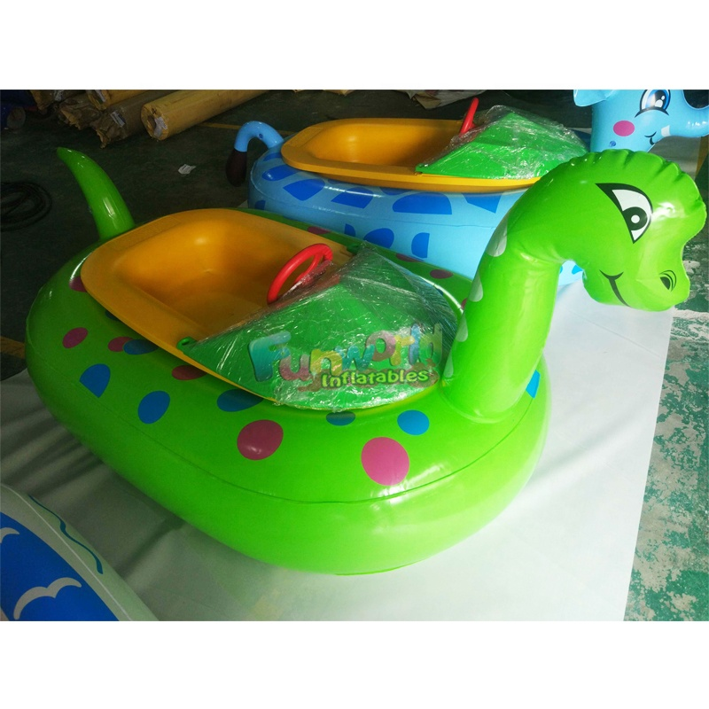 Water toys adults motorized inflatable bumper boat adult electric bumper boat