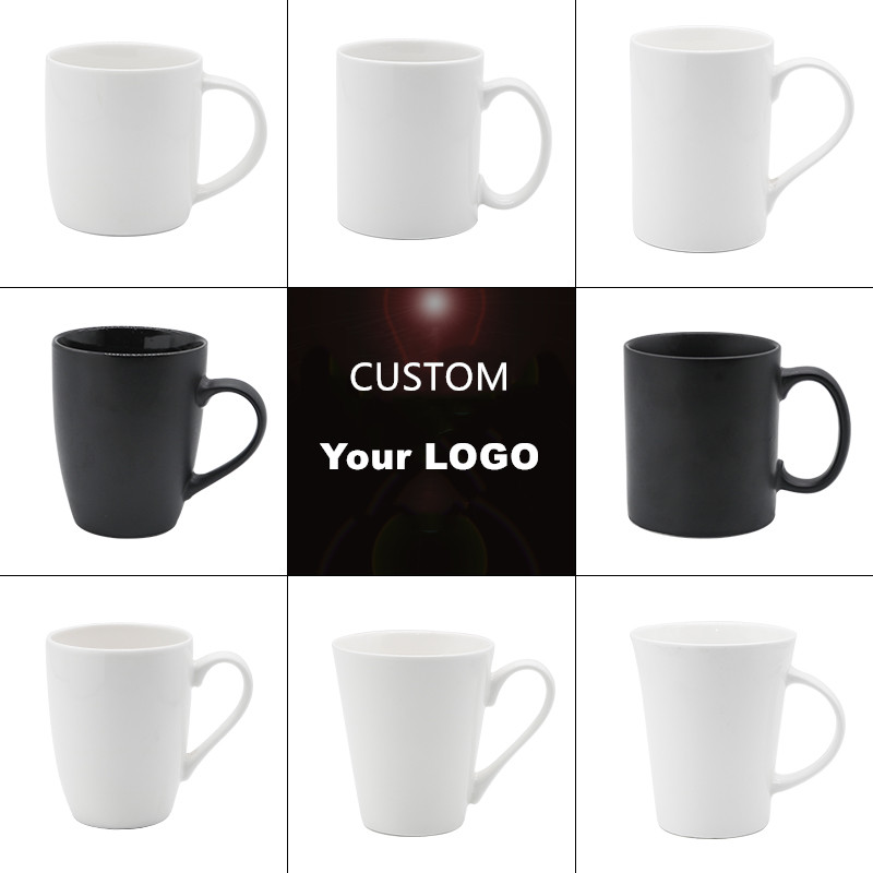 Beste verkauf keramik becher mit kunden logo, souvenir tasse für Förderung, Festival, Hochzeit geschenk